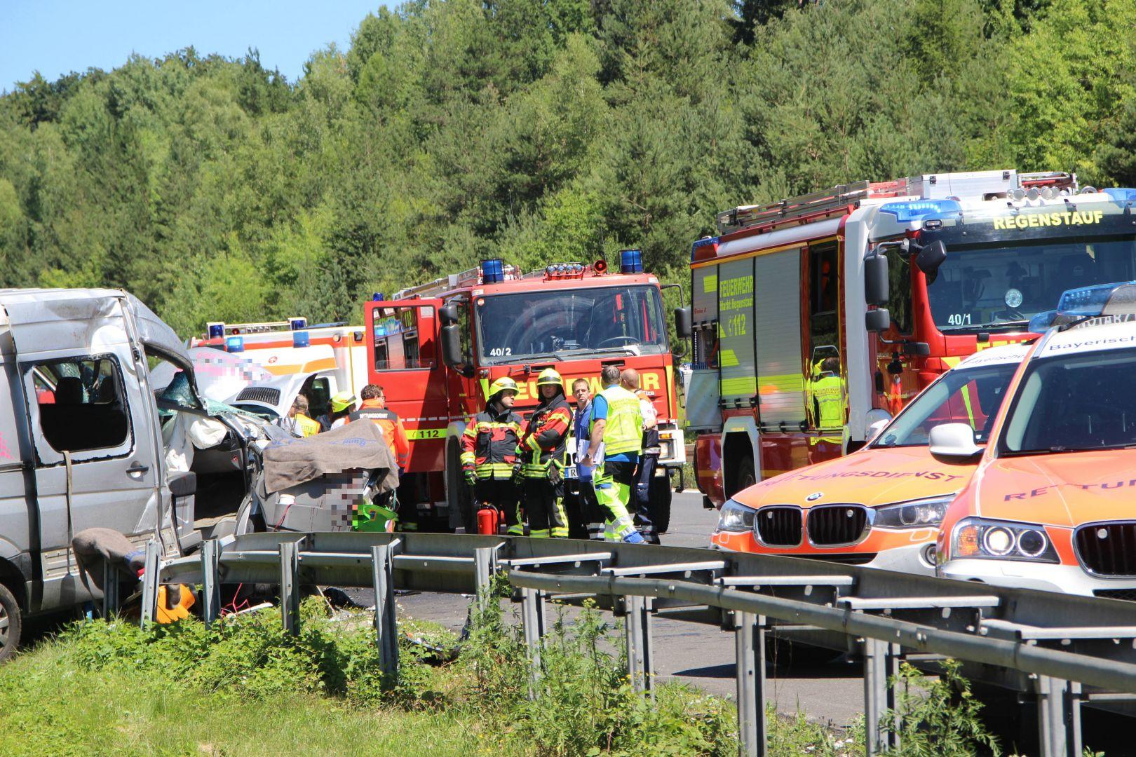 Unfall Auf A93