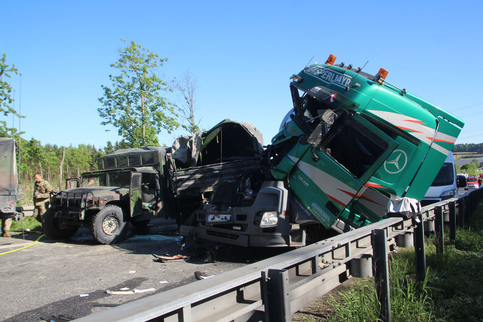 Unfall Mainburg