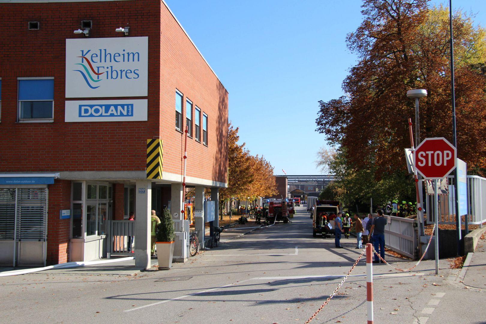 Brand In Kelheim