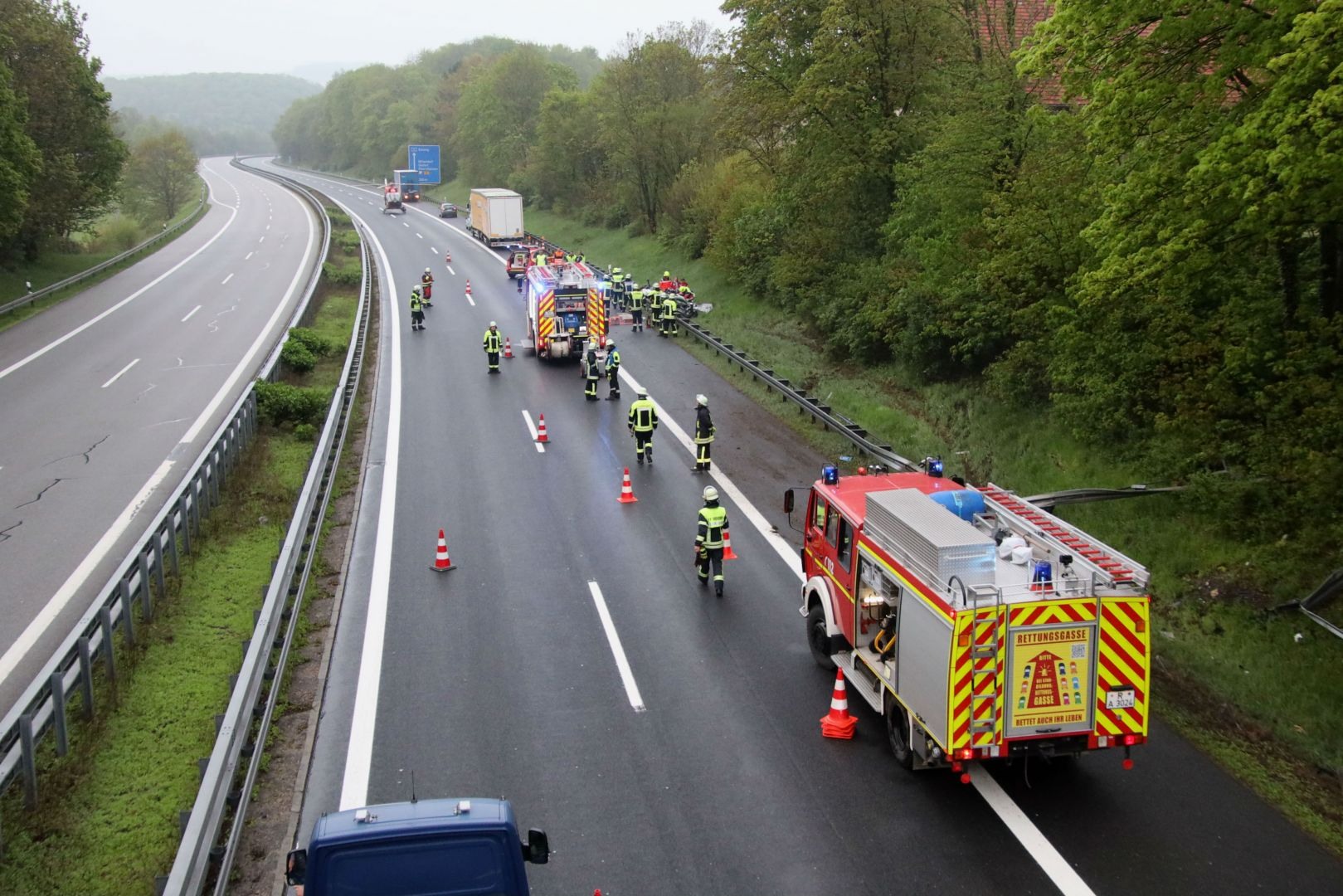 Unfall A3 Nittendorf